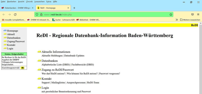 redi Datenbank 1